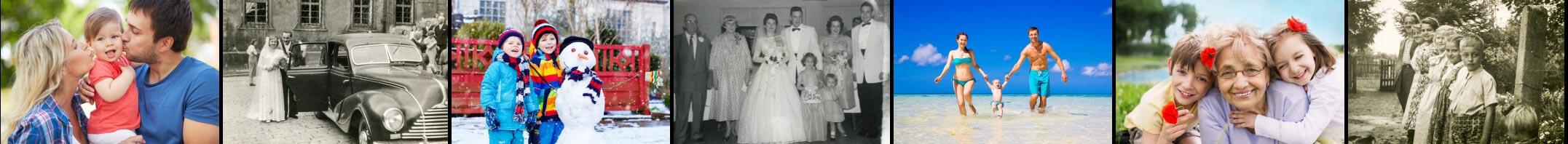 Family photo scanning